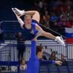 エフゲーニヤ・タラソワ&ウラジミール・モロゾフ 欧州選手権2017 フリー演技 (解説:ロシア語・イギリス英語)