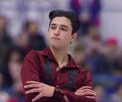 欧州選手権2017、イスラエル代表-ダニエル・サモーヒン (Daniel SAMOHIN)ののショートプログラム演技の動画です。