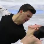 シャルレーヌ・ギニャール&マルコ・ファッブリ 欧州選手権2017 フリー演技 (解説:ロシア語)
