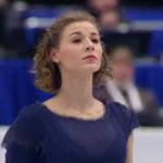 ロリーヌ・ルカヴァリエ 欧州選手権2017 ショート演技 (解説:ロシア語・イタリア語・イギリス英語・アメリカ英語)