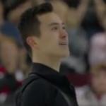 パトリック・チャン カナダ選手権2017 ショート演技 (解説:カナダ英語)