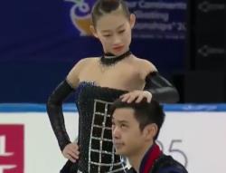 彭程[ホウ・テイ]&金楊[キン・ヨウ] 四大陸選手権2017