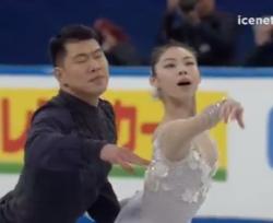 于小雨[ウ・ショウウ]&張昊[チョウ・コウ] 四大陸選手権2017