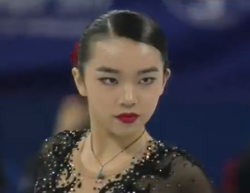 カレン・チェン 四大陸選手権2017