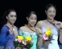 四大陸選手権2017 女子シングル表彰式