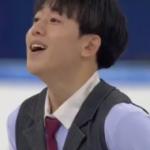 キム・ジンソ 四大陸選手権2017 フリー演技 (解説:中国語)