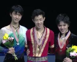 四大陸選手権2017 男子シングル表彰式