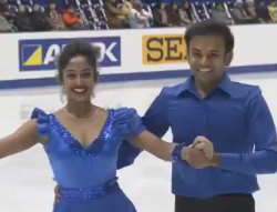 アルドリン・エリザベス・マシュー&アヌップ・クマル・ヤマ 冬季アジア大会2017