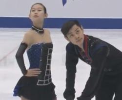 彭程[ホウ・テイ]&金楊[キン・ヨウ] 冬季アジア大会2017
