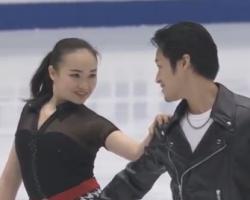 森衣吹&鈴木健太郎 冬季アジア大会2017