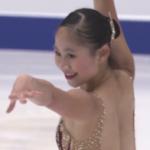 エイミー・リン 冬季アジア大会2017 フリー演技 (解説:英語)