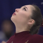 アイザ・マムベコワ 冬季アジア大会2017 フリー演技 (解説:英語)
