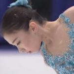 エリザヴェート・トゥルシンバエワ 冬季アジア大会2017 フリー演技 (解説:英語)