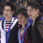 冬季アジア大会2017 男子シングル表彰式 (解説:英語)
