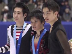 冬季アジア大会2017 男子シングル表彰式