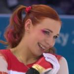アレーナ・レオノワ 冬季ユニバーシアード2017 ショート演技 (解説:英語 )