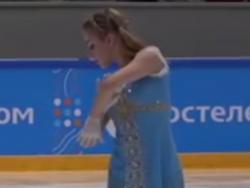 アリッサ・フェディチキナ ロシアジュニア選手権2017