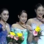 四大陸選手権2017 女子シングル表彰式 (解説:なし)
