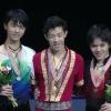 四大陸選手権2017 男子シングル表彰式 (解説:なし)