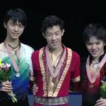 四大陸選手権2017 男子シングル表彰式 (解説:中国語)