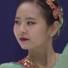 キム・ナヒョン 冬季アジア大会2017 フリー演技 (解説:英語)