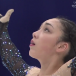 本郷理華 冬季アジア大会2017 フリー演技 (解説:英語)