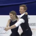 アナスタシヤ・スコプツォワ&キリル・アリョーシン 世界ジュニア選手権2017 ショート演技 (解説:なし)