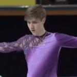 ローマン・サドフスキー 世界ジュニア選手権2017 フリー演技 (解説:なし)