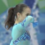 アリーナ・ザギトワ 世界ジュニア選手権2017 ショート演技 (解説:なし)