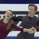 アナスタシヤ・スコプツォワ&キリル・アリョーシン 世界ジュニア選手権2017 フリー演技 (解説:中国語)