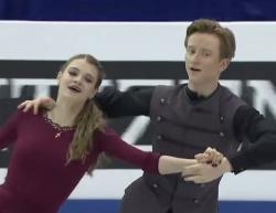 アナスタシヤ・スコプツォワ&キリル・アリョーシン 世界ジュニア選手権2017