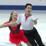 アナスタシヤ・シュピレワヤ&グリコリー・スミルノフ 世界ジュニア選手権2017 フリー演技 (解説:なし)