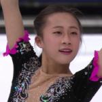 李香凝[リ・コウギョウ] 世界選手権2017 ショート演技 (解説:なし)