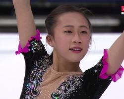 李香凝[リ・コウギョウ] 世界選手権2017