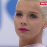 ヘラリー・ハルヴィン 世界選手権2017 ショート演技 (解説:ロシア語)