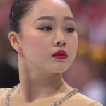 樋口新葉 世界選手権2017 ショート演技 (解説:ロシア語・イギリス英語)