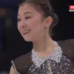 エリザヴェート・トゥルシンバエワ 世界選手権2017 ショート演技 (解説:ロシア語・イギリス英語)