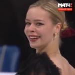 アンナ・ポゴリラヤ 世界選手権2017 ショート演技 (解説:ロシア語・イギリス英語)