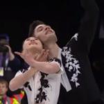 須藤澄玲&フランシス・ブードロ・オデ 世界選手権2017 ショート演技 (解説:イギリス英語・ロシア語)