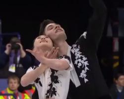 須藤澄玲&フランシス・ブードロ・オデ 世界選手権2017