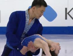 于小雨[ウ・ショウウ]&張昊[チョウ・コウ] 世界選手権2017