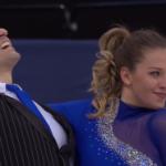 アリサ・アガフォノヴァ&アルペル・ウチャル 世界選手権2017 ショート演技 (解説:ロシア語)