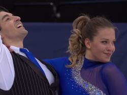 アリサ・アガフォノヴァ&アルペル・ウチャル 世界選手権2017
