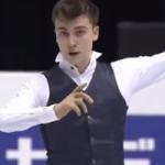 アレキサンダー・ボロヴォイ 世界ジュニア選手権2017 ショート演技 (解説:なし)