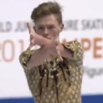 アレクサンドル・ペトロフ 世界ジュニア選手権2017 ショート演技 (解説:なし)