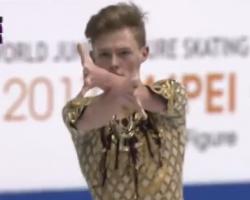 アレクサンドル・ペトロフ 世界ジュニア選手権2017