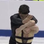 アリーナ・ウスティムキナ&ニキータ・ボロディン 世界ジュニア選手権2017 ショート演技 (解説:なし)