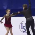 アレクサンドラ・ボイコワ&ドミトリー・コズロフスキー 世界ジュニア選手権2017 ショート演技 (解説:なし)