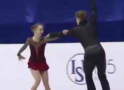 アレクサンドラ・ボイコワ&ドミトリー・コズロフスキー 世界ジュニア選手権2017