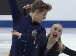 ニコール・クズミチョワ&アレクサンドル・シニシン 世界ジュニア選手権2017